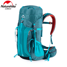 цены Naturehike 55L 65L Backpack Professional Hiking Bag with Suspension System NH16Y065-Q