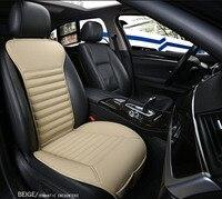 1 pc pu leather car seats pad, non slide car seat cover for mitsubishi pajero 4 sport outlander xl asx montero car accessories