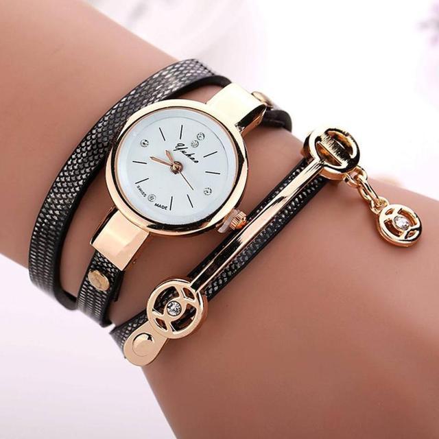 Fashion Luxury Women Wristwatch Watches Leather Strap Ladies Bracelet Watch Casu