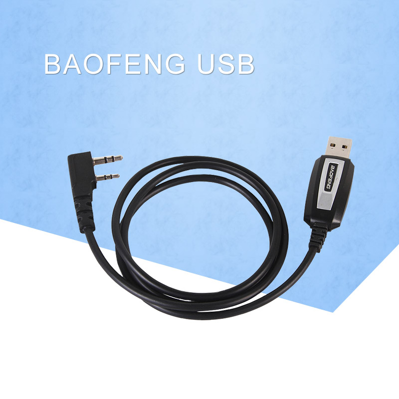 Baofeng USB Programming Cable For Baofeng Two Way Radio UV-5R, BF-888S,BF-F8+ With Driver CD