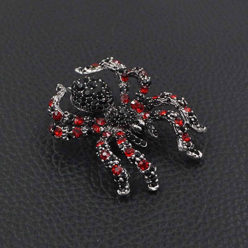 CINDY XIANG berlian buatan labah-labah labah-labah untuk penyataan - Perhiasan fesyen - Foto 5