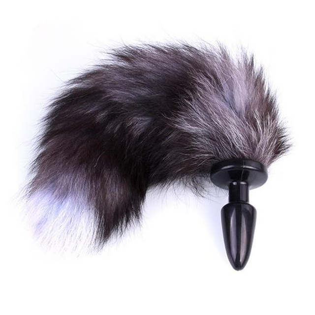 Online Shop Anime cosplay fox Tail Unisex Halloween family cos props  Couples life flirting tail Anal plug | Aliexpress Mobile