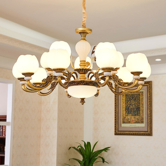 Classical European pendant lamp living room modern luxury style home bedroom dining room lamp creative personality lighting