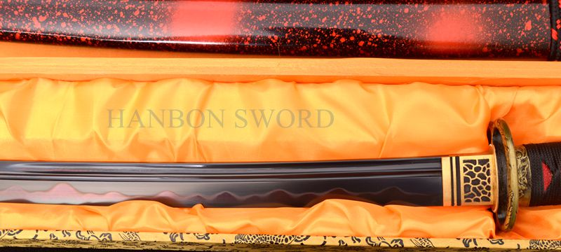 Ձեռքի դարբնոցային կավը Katana Samurai - Տնային դեկոր - Լուսանկար 3