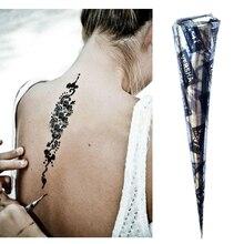 Натуральные хна индийские хной паста черная рисунок тела татуировки подарок г