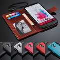 New arrivels Luxury Leather Wallet G 3 D855 Case Cover For LG G3 D858 D859 Stand With Holders & Stands Photo Frame