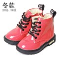 Winter Children Warm Shoes Kids Male Fashion Waterproof Martin Boots Cotton Shoes Girls Boys Snow Boots Chaussure Enfant Eu21-36