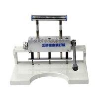 Nueva máquina perforadora de papel para encuadernación de libros  máquina perforadora de 3 agujeros Manual  perforadora de tres agujeros  1 unidad