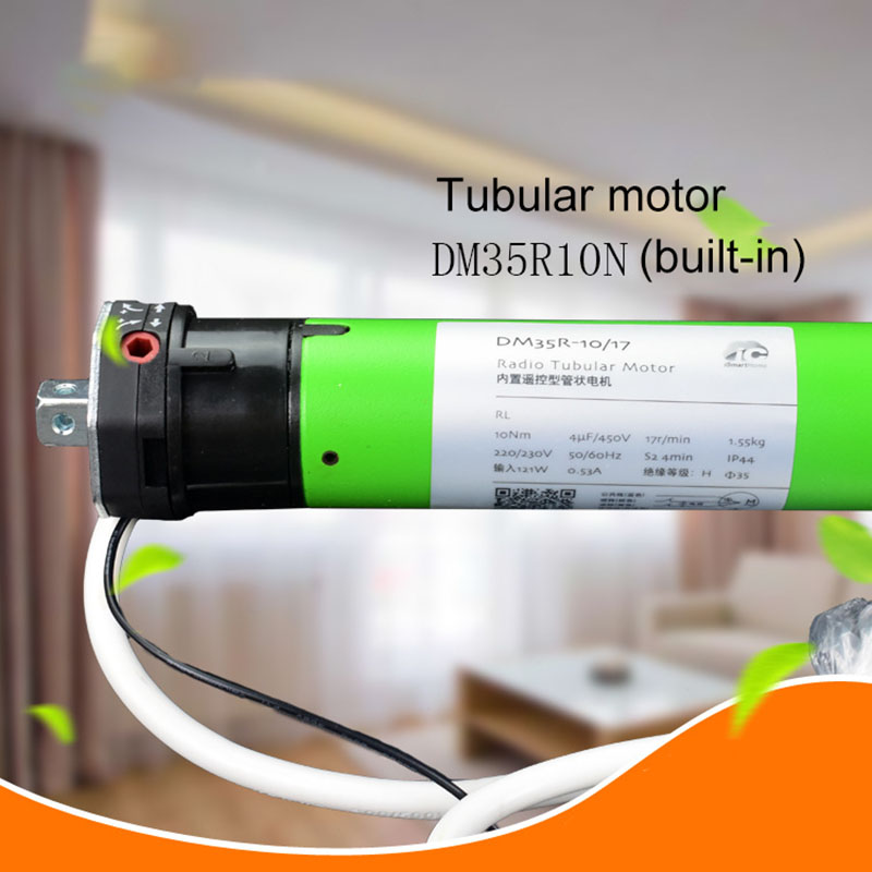 Smart Home Aiboduo Roller Blinds Motor 50mm Toprail Electric Roller Blind Electric Curtain Built-In Motor Strong Pull Durable
