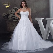 Jeanne Love A Line Vintage Wedding Dress 2019 New Arrival Ball Gown Off The Shoulder Vestido De Noiva Robe Mariage JLOV75962