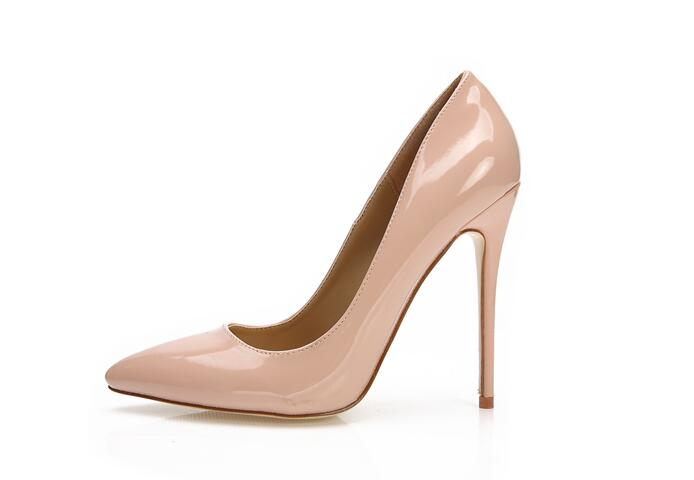 fbdcfbd5b2d Ladies Designer Shoes Women Luxury So Kate 12cm 10cm Patent Leather Black  Nude Heels Pigalle Fashion Wedding Shoes Women Pumps-in Women s Pumps from  Shoes ...