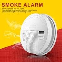 6.5 V-7.2 V Laagspanning Alarm Alarm Stroom Hieronder 12mA Alarm Geluid Boven 85db Gemakkelijk Installatie Foto-elektronische Rook Alarm