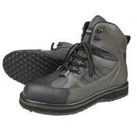 Fliegen Angeln Waders Jagd Stiefel Upstream Angeln Schuhe Fühlte Anti-Rutschig Sohle Armee Grün Leder Lace Up Schuhe für männer FR1