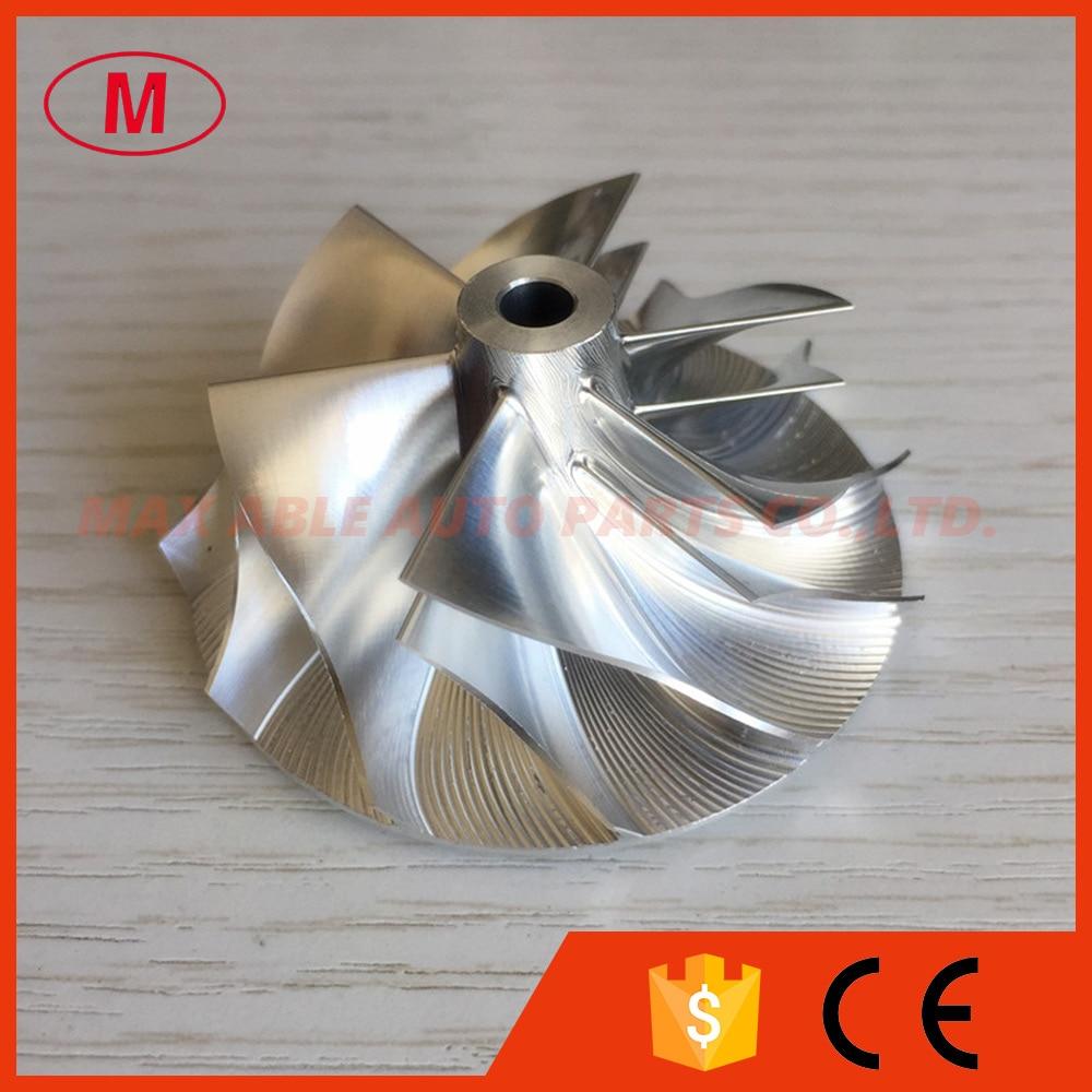 TD04HL 18T 45 01 56 02mm 6 6 blades 49189 43800 Turbocharger Billet milling aluminum 2618