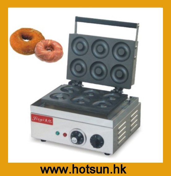 Commercial Non-stick 110V 220V Electric Donut Doughnut Maker Machine free shipping commercial non stick 110v 220v electric 15pcs donut doughnut baker maker iron machine
