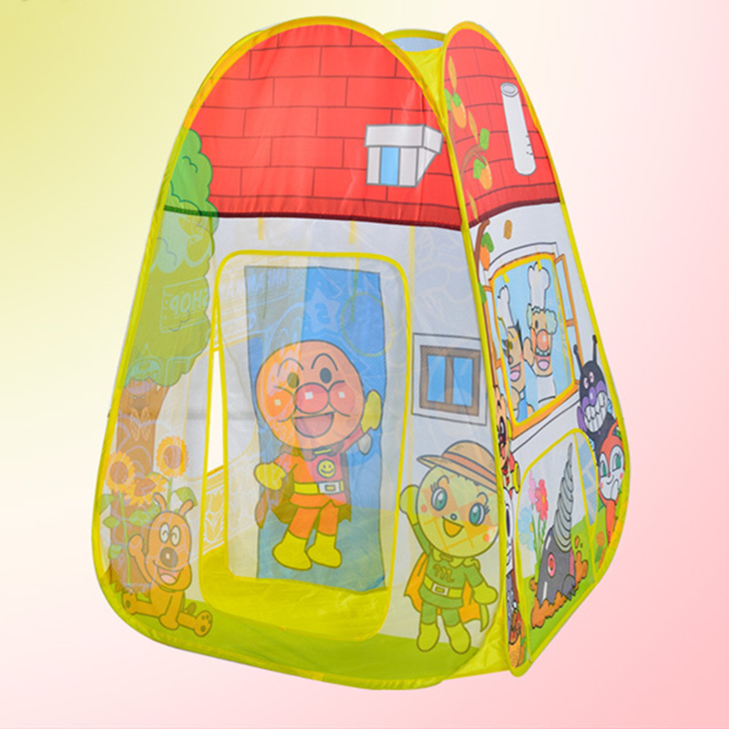 Portable Children Playing Tent Breathable Cool Gauze Indoor Outdoor Children Playing House Children Camping Tents