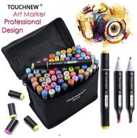 TOUCHNEW 168 Colors Artist Double Tips Marker Set Animation Manga Design School Drawing Sketch Marker Pen