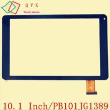 10.1 «дюймов pb101jg1389 для fondi yshica Планшеты PC емкостный сенсорный экран панели Стекло Сенсор Замена