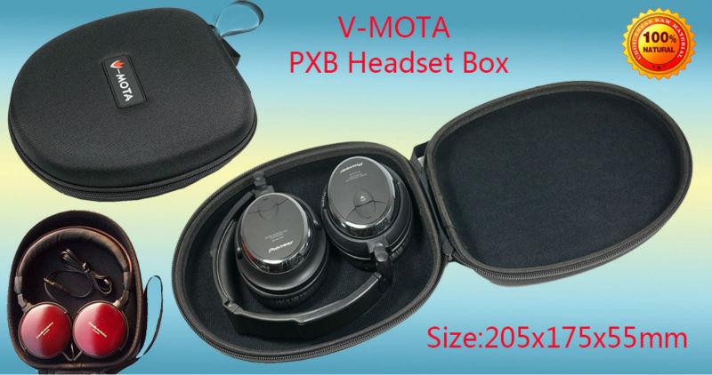 V MOTA PXB Headphone Carry case boxs For Audio Technica ATH SJ33 ATH SJ55 ATH ES7 ATH ESW9 ATH ESW10 ATH SJ11 ATH VM55 headphone in Earphone Accessories from Consumer Electronics