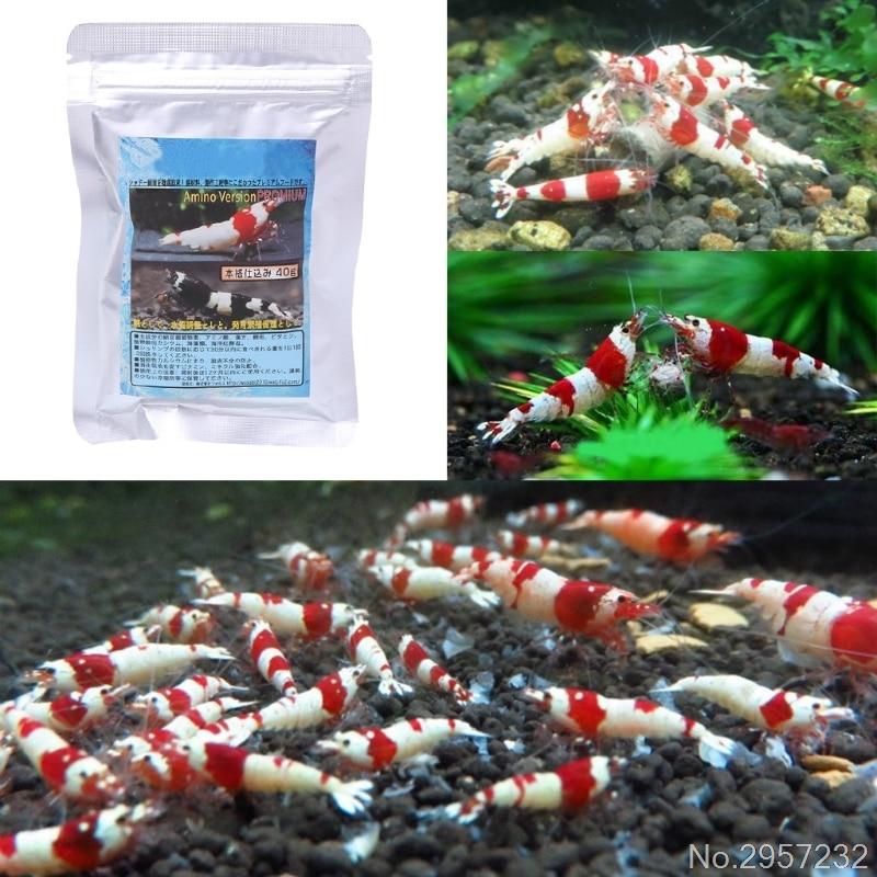 40g Snow Natto Shrimp Snail Food Feed Feeding For Aquarium Fish Tank Pond New yy56