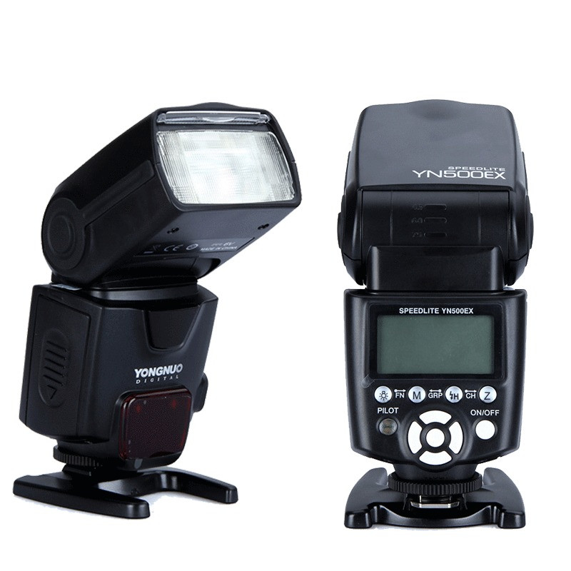 YONGNUO YN500EX YN-500EX  E-TTL GN53 1/8000s HSS Camera Flash Light Speedlite for Canon 6D 7D 5D2 5D3 60D 650D 600D 550D 700D 3pcs yongnuo yn600ex rt auto ttl hss flash speedlite yn e3 rt controller for canon 5d3 5d2 7d mark ii 6d 70d 60d