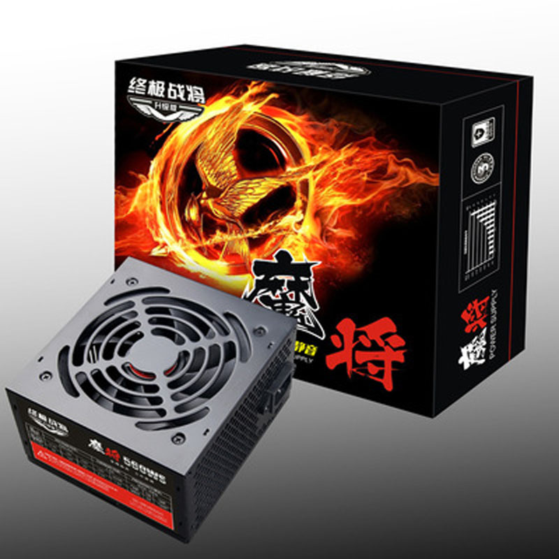 Nouvel ordinateur alimentation PSU pour PC de jeu ordinateur portable source électrique 500 W adaptateur sata alimentation pour carte graphique r7 270 rx570