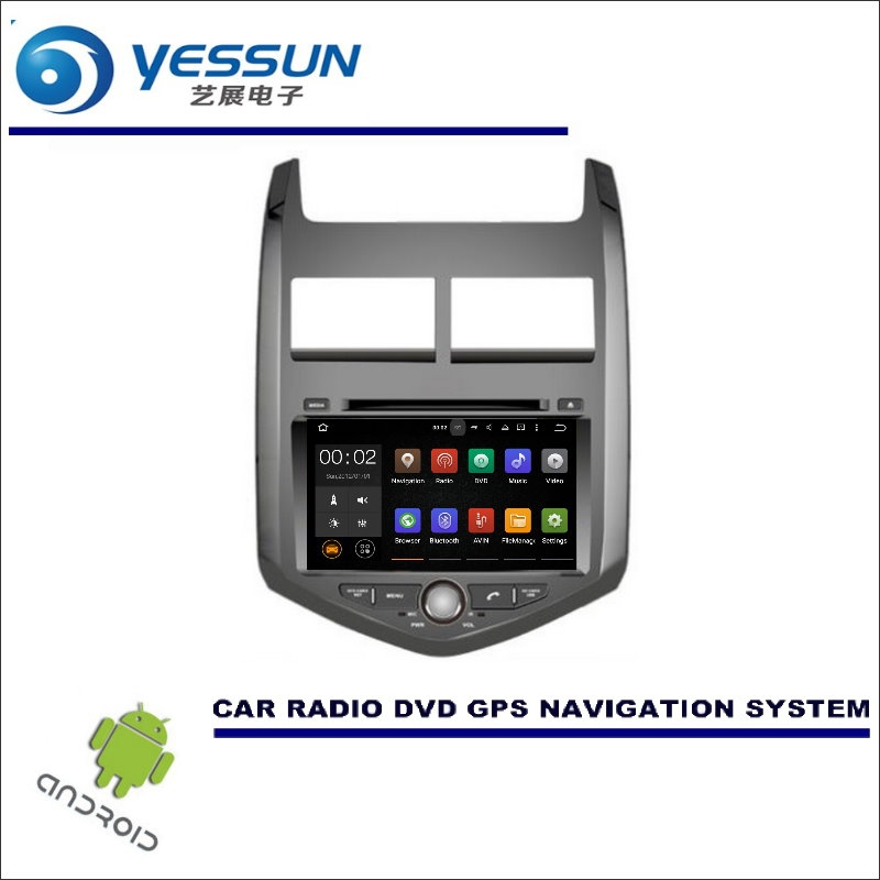 YESSUN Wince / Android Car Multimedia Navigation For Chevrolet Sonic / Aveo 2011~2016 / CD DVD GPS Player Navi Radio Stereo HD yessun for mazda cx 5 2017 2018 android car navigation gps hd touch screen audio video radio stereo multimedia player no cd dvd