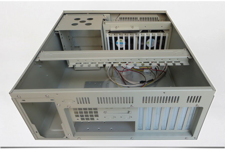 все цены на 7-slot rear wind 610H chassis 4U industrial control server industrial chassis installed research industrial motherboard AT/ATX онлайн