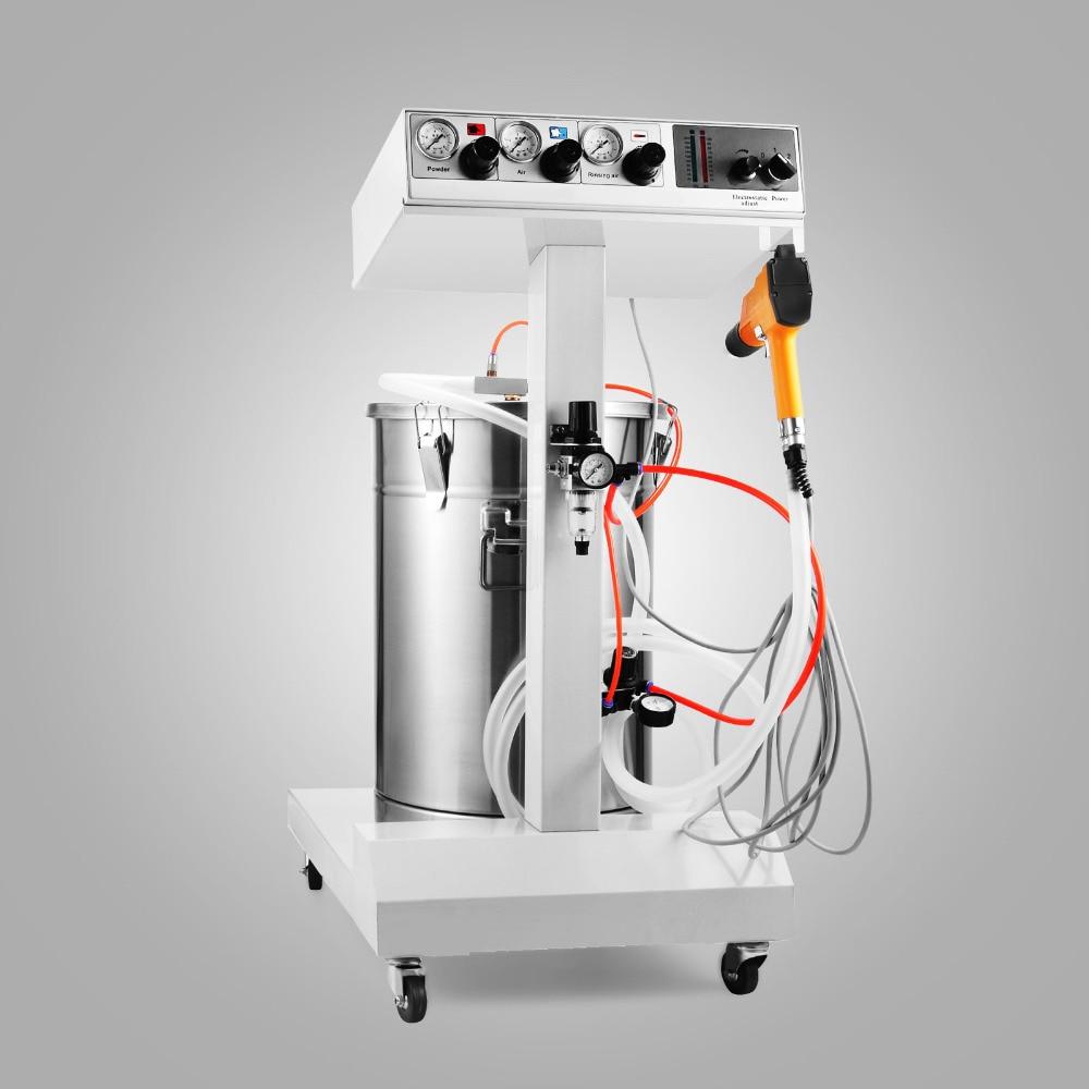 Image 5 - 450g/min WX 101 Powder Coating Machine 45L Capacity Electrostatic Powder Coating Machine Spraying Gun PaintFood Processor Parts   -