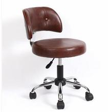 Armless computer chair. Small and stylish chair. Lift small swivel chair...007