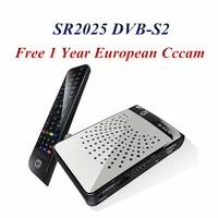 MINI DVB-S2 SR2025 HD Sunplus1507A Chipset H.265 Cccam Satellitare recettore + 1 Anno Europeo Per La Spagna Tedesco Polonia Media Player