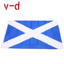 Бесплатная доставка xvggdg флаг шотланда полиэфирный баннер