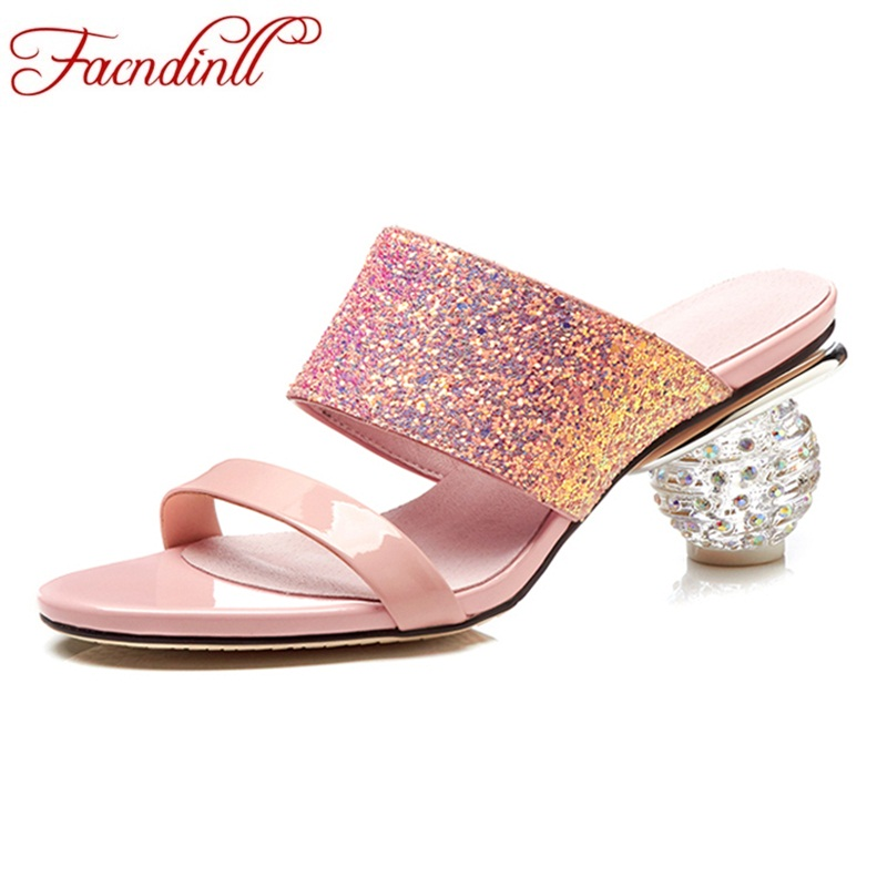 FACNDINLL women sandals 2018 new summer high heels sandals sexy open toe sandals women concise woman dress party wedding shoes covibesco nude high heels sandals women ankle strap summer dress shoes woman open toe sandals sexy prom wedding shoes large size