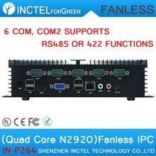 Mini desktop computer industrial pc with Intel Quad core 22nm N2920 processor 1.86GHz fanless desktop industrial pc(China (Mainland))