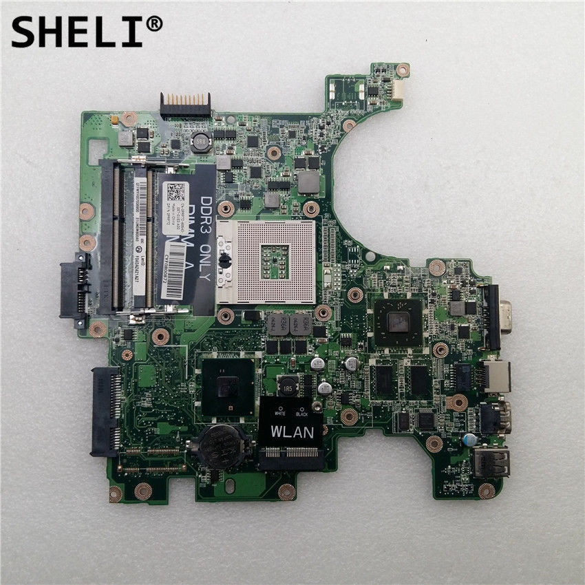 SHELI For Dell 14 1464 Motherboard with HD4330 CN-0953PN 0953PN 953PNSHELI For Dell 14 1464 Motherboard with HD4330 CN-0953PN 0953PN 953PN