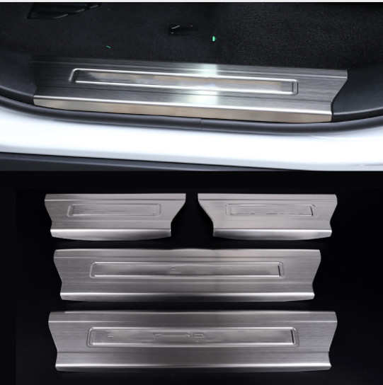 2014 Land Rover Range Rover Sport: Stainless Steel Interior Door Sill Scuff Plate For Land
