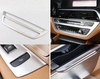 Accessories Interior Car Control Air Conditioning Adjustment Panel Cover Trim 1pcs for BMW 6 Series Gran Turismo G32 2017 2018