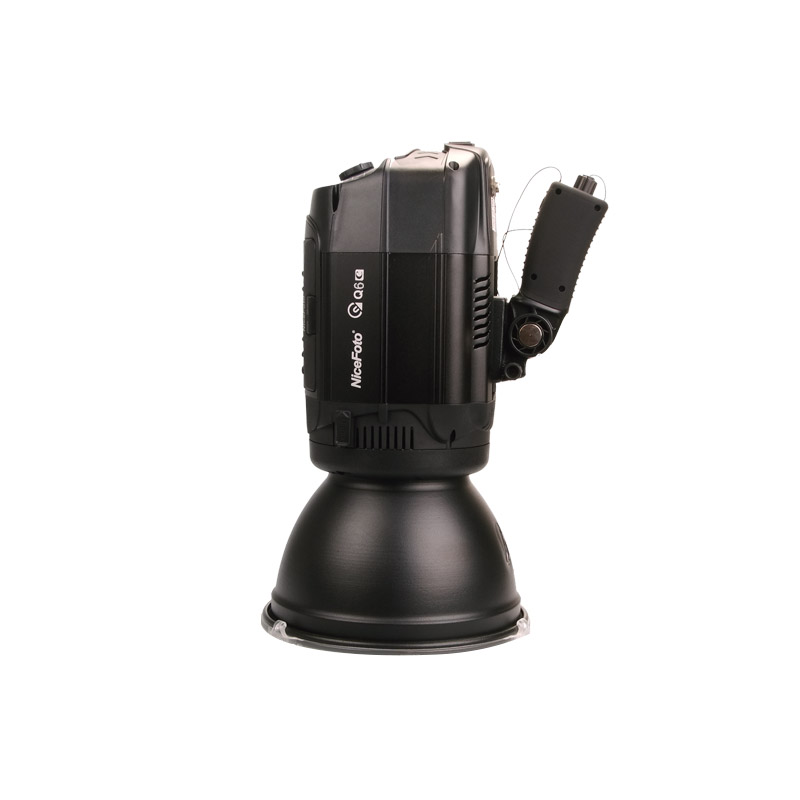 NiceFoto HS Q6C 600W HSS 1 8000S Studio Flash Outdoor Flash High Speed Speedlite with Transmitter for Canon Camera in Photographic Lighting from Consumer Electronics