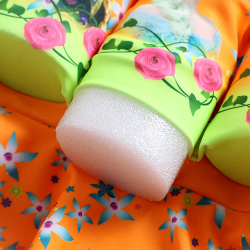 Детский купальный костюм для девочек с защитой от солнца; 1 предмет; купальный костюм; детское платье для обучения плаванию; купальный костюм