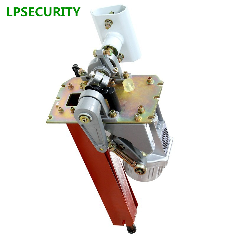 LPSECURITY automatic parking gate mechanism barrier gate mechanism car park barrier mechanism for max arm length 6 m or 20 feet цена