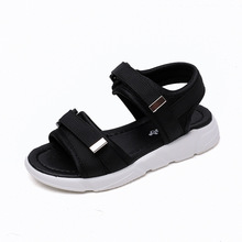 kids beach shoes girls summer Black leisure children boy sandals red childrens kid