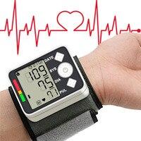 Blood Pressure Meter Monitor 2016 Digital Wist Portable Automatic Sphygmomanometer For Home Health Care Measurement