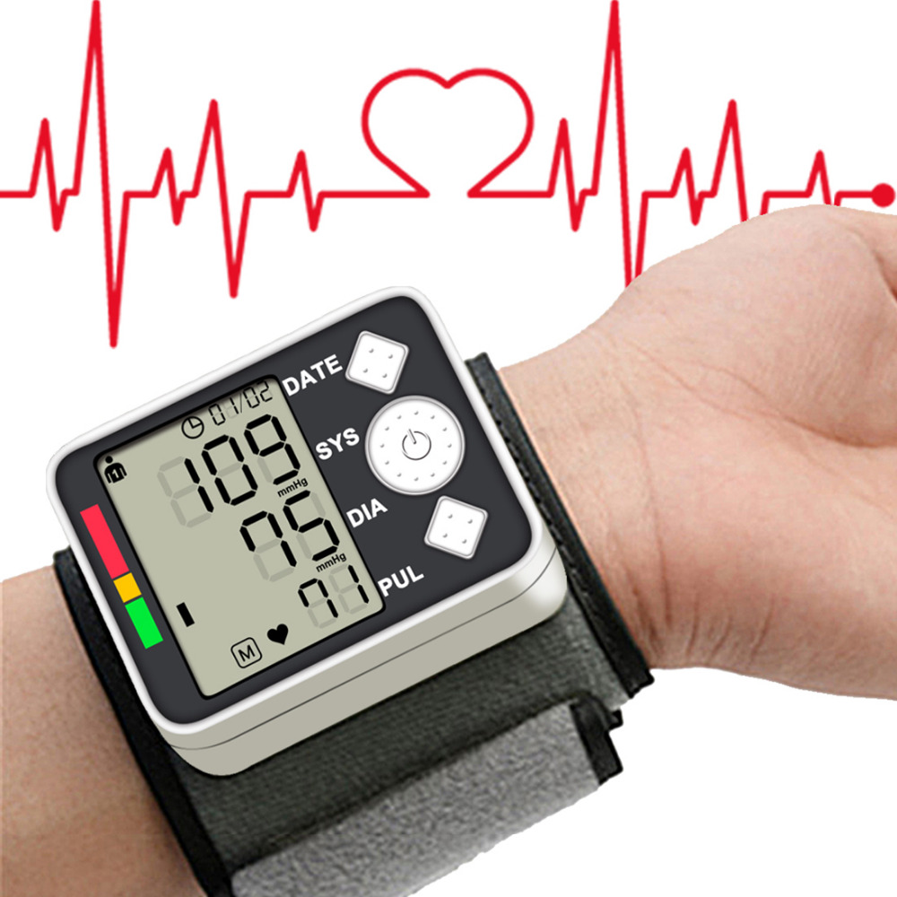 Health Care Measurement Blood Pressure Meter Digital Monitor Wrist Automatic Phys magnetometer for Home School abel adv in cardiology – electrocardiology ii phys io pathophysiological