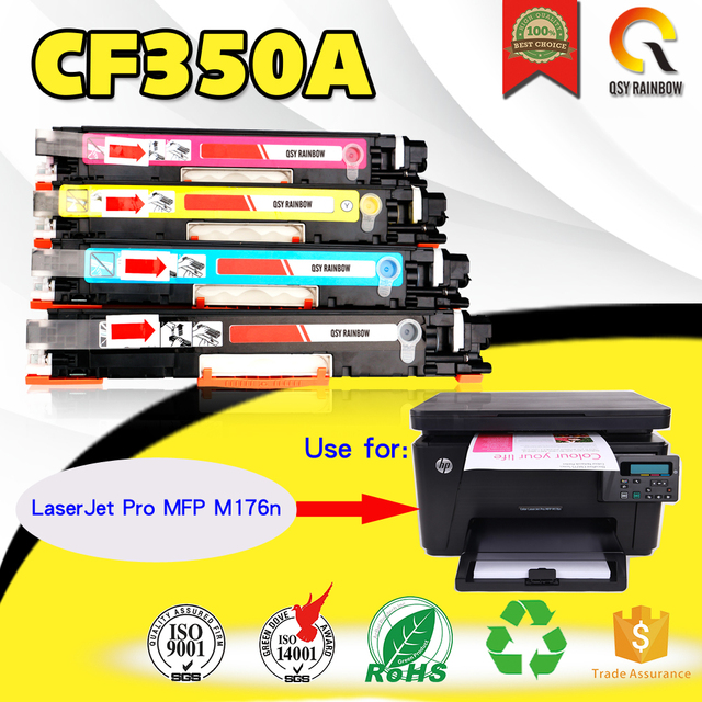 1c7e3b8039fe For hp Color LaserJet Pro MFP M176n, M176 printer Compatible Color Toner  Cartridge