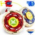 2 шт./лот Металл Fusion Beyblade Волчок Игрушки Для Детей Детский Рождественский Подарок Борьба Мастер Классические Игрушки