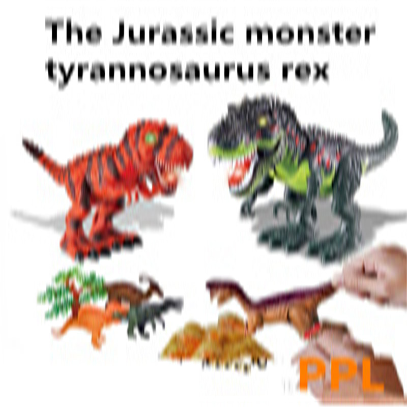 Jurassic monster action tyrannosaurus rex can use electric to lay an egg with light simulation model children's toy wiben jurassic tyrannosaurus rex t rex dinosaur toys action