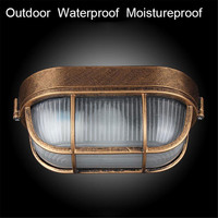 Retro moisture explosion proof outdoor Wall light Vintage Waterproof E27 ceiling lamp outdoor wall & Porch lighting cicilighting