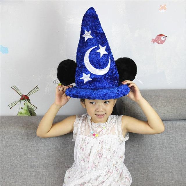 Wonderlijk Fantasy Magic Cap Sorcerer Mickey Minnie Fantasia Tovenaarshoed FU-76