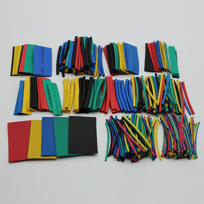 Get This Brand New 410 Pcs Polyolefin Assorted Heat Shrink Tubing