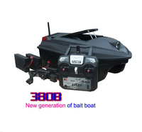 PDDHKK 300m Distance Remote Control Fishing Finder 3kg Fishing Bait Boat Fast ship Plastic Material Double Warehouse RC Toys